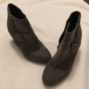 Arizona taupe colored booties